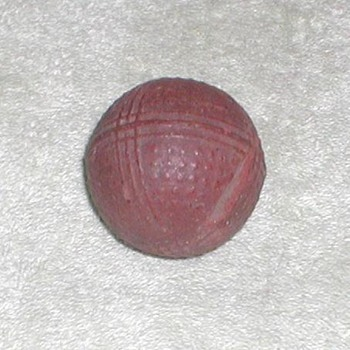 1880&#039;s Bramble Golf Ball