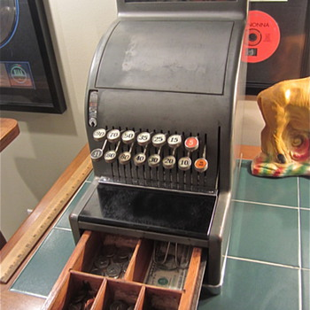National 1941 Model #4151 Candystore/Barbershop Cash Register