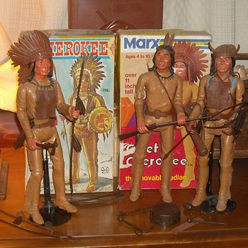Marx Chief Cherokee From the Johnny West Series 1965-1967 - Toys