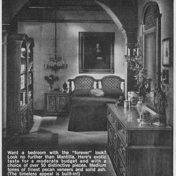 1968 - Drew Furniture Advertisement
