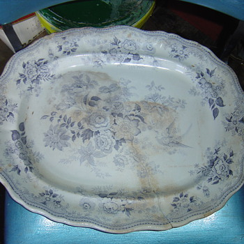 old meit plait - China and Dinnerware