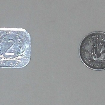 Eastern Caribbean States/Territories - World Coins