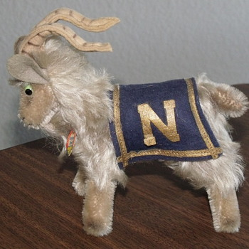 My Steiff Navy Goat