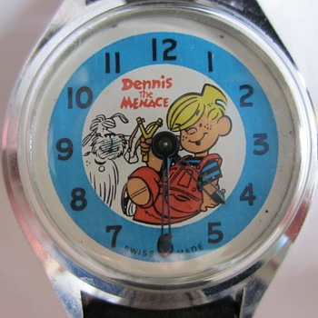 Dennis and Ruff Wristwatch