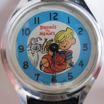 Dennis and Ruff Wristwatch