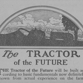 1919 Dayton-Dowd Tractor Advertisement - Advertising
