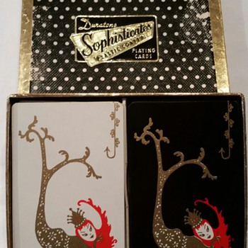 Duratone Sophisticates Mermaid Playing Cards 2 Deck Set - Cards