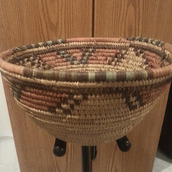 My old native american basket - Native American