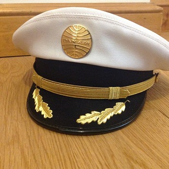 Vintage Pan Am Captain's Hat