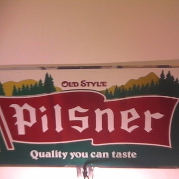 Old Style Pilsner Sign