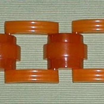 Bakelite Links Bracelet