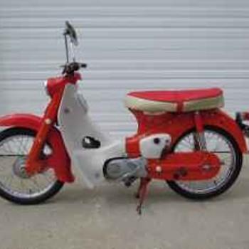 1962 Honda C100 Super Cub 50cc.