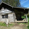 Old log Cabin . Still in use 