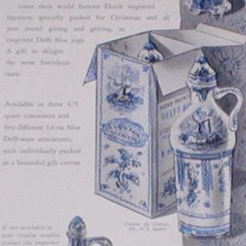 1953 Delft Chinaware Advertisement - Advertising