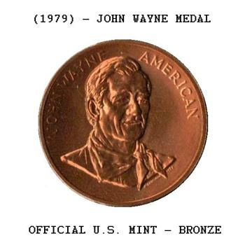 1979 - John Wayne Bronze Medal
