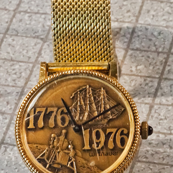 Wittnauer Bicentennial Watch