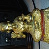 Gold colored Cast Iron Thailand Figure/ Statue