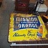 ORANGE SODA SIGN
