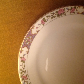 Noritake no pattern designation - China and Dinnerware