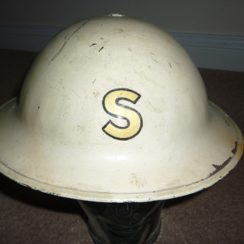 British pre WW11 &quot;experimental&quot; steel helmet  - Military and Wartime