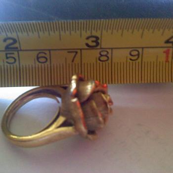 Trifari Ring - Costume Jewelry