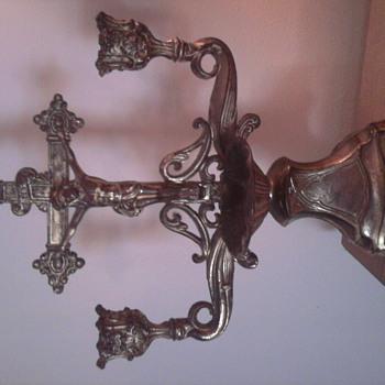 Crucifix Candleabra