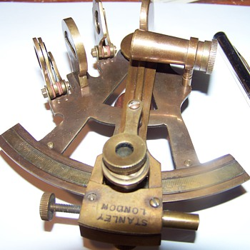 ANTIQUE BRASS SURVEYING TOOL - Tools and Hardware