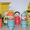 Sesame Street finger dolls