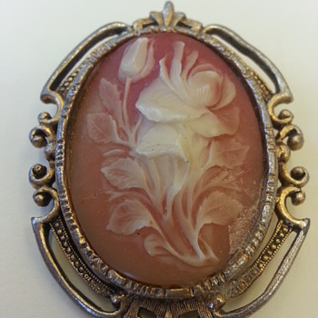 Flower Cameo - Fine Jewelry