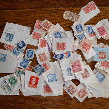 Foreign Stamps from the 1930's & 1940's