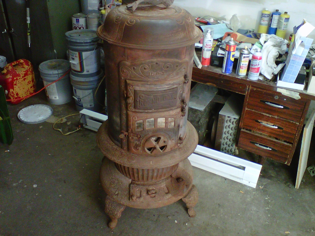 - Round Oak Stove Collectors Weekly