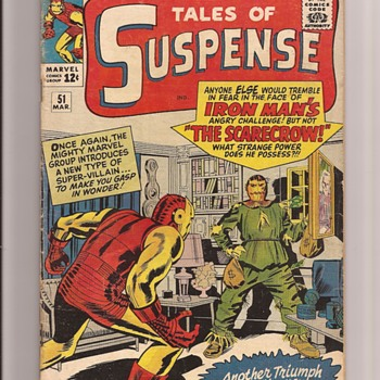 Marvel Tales of Suspense Kirby - Comic Books