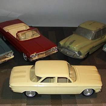 1960's Chevrolet promos - Model Cars