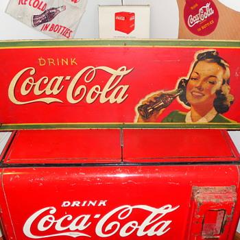 1945 Coca-Cola Sign