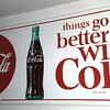 Things Go Better With Coke, smaller version sign