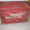 Coca-Cola Coke Chest WOODEN
