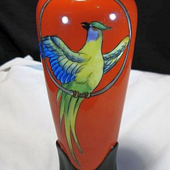 Noritake Hand Painted Vase - Asian