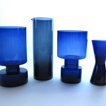 Collection of Kaj Franck Glass (Nuutajrvi Notsj and Iittala) - Art Glass