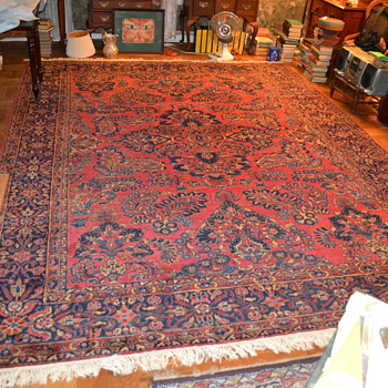Painted Sarouk - Rugs and Textiles