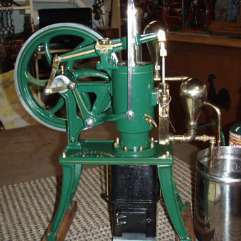 Scale Model Ryder Ericsson Hot Air Pumping Engine