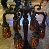 6 Arm Tulip Table Lamp