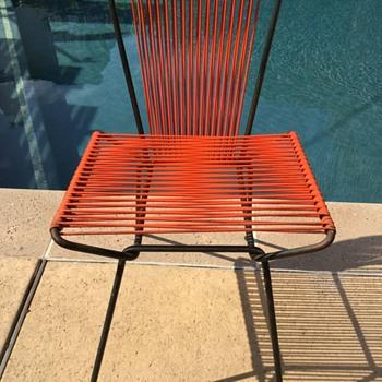 Mid Century Modern Chair Orange Furniture - Mid-Century Modern