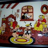 1930's Walt Disney Enterprises Reverse Glass Painted Picture by Reliance
