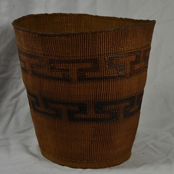 Tlingit Rattletop Basket - Native American