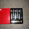 Viners Sable stainless steel cofee spoons, vintage retro era 60's boxed factory fresh condition