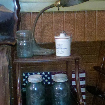 Blue Ball Jars and Stuff - Bottles