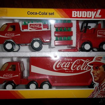 Old Buddy L Toys - Coca-Cola