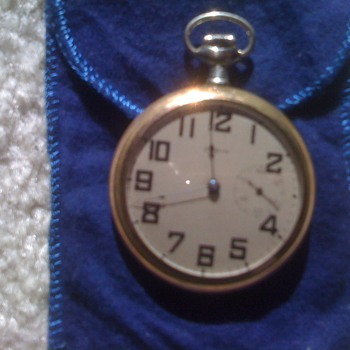 Elgin gold pocket watch - Pocket Watches