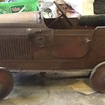 1920's Childs Pedal Car Genuine Barn find - Model Cars