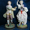 RENISSANCE FIGURINE PAIR